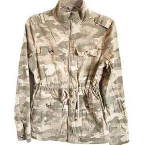 SO Juniors' Camouflage Essential Utility Jacket